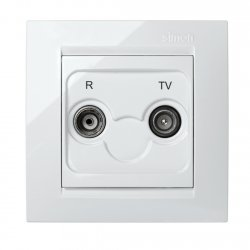 TOMA R+TV INTERMEDIA BLANCO SIMON 15