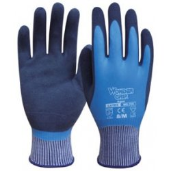 GUANTES LATEX IMPERMEABLE AZUL SAFETOP